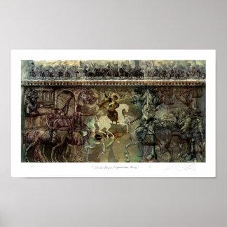 Heilige George/RuiterReeks Poster