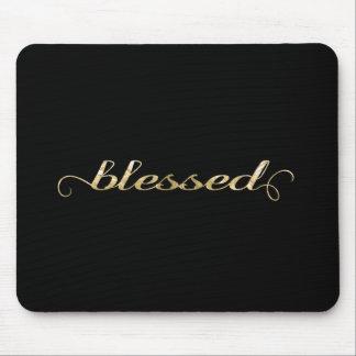 Heilige, Gouden folie-Blik Inspirerend Dankbaar Muismatten