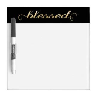 Heilige, Gouden folie-Blik Inspirerend Dankbaar Whiteboards