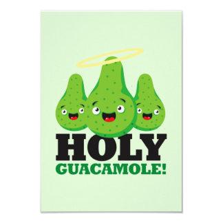 Heilige Guacamole! De Uitnodigingen van de Partij