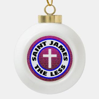Heilige James minder Keramische Bal Ornament