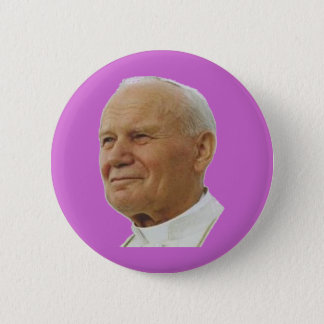 Heilige Johannes Paulus II Ronde Button 5,7 Cm