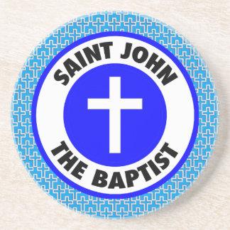 Heilige John Doopsgezind Zandsteen Onderzetter