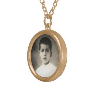 Heilige Jose Sanchez Del Rio - Heilige Medaille 2 Goud Vergulden Ketting
