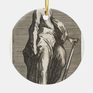 Heilige Jude (of Heilige Matthias) Rond Keramisch Ornament