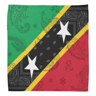 Heilige Kitts & Nevis Bandana