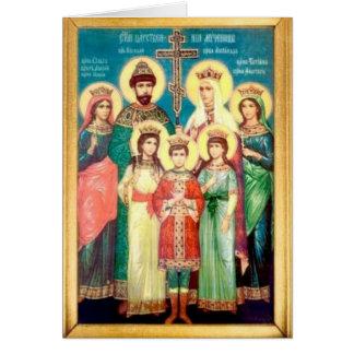 Heilige Koninklijke Martelaren Kaart