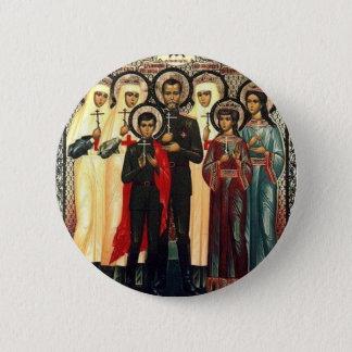 Heilige Koninklijke Martelaren Ronde Button 5,7 Cm