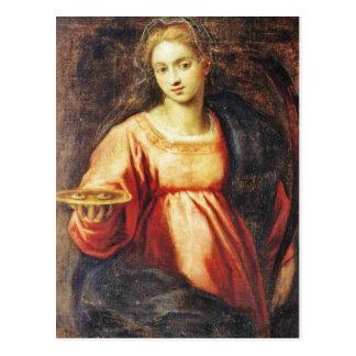Heilige Lucia van Zweden Briefkaart