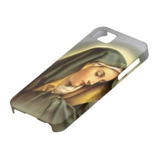 Heilige Maagdelijke Mary - Moeder van God Barely There iPhone 5 Hoesje