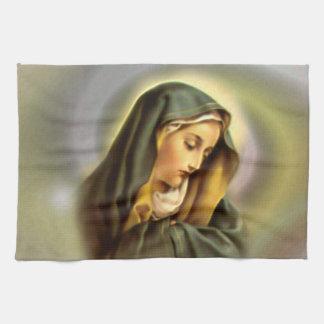 Heilige Maagdelijke Mary - Moeder van God Theedoek
