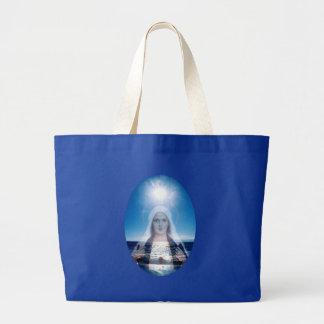 Heilige Maagdelijke Mary over de Oceaan Jumbo Draagtas