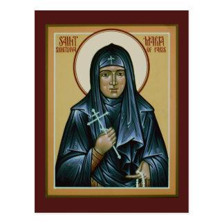 Heilige Maria van de Kaart van het Gebed van