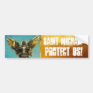 Heilige Michael Bumper Sticker