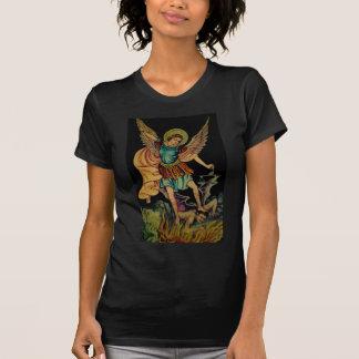 Heilige Michael de Aartsengel T Shirt