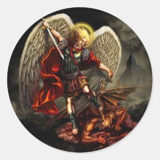 Heilige Michael de Sticker van de Aartsengel