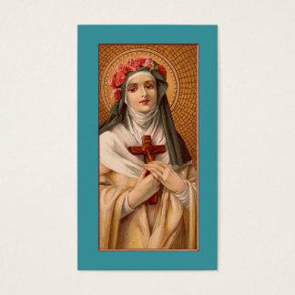 Heilige nam van Lima Gebed of Visitekaartje toe Visitekaartjes