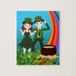 Heilige Patrick Day Kids Party Puzzel