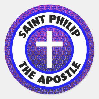 Heilige Philip de Apostel Ronde Sticker