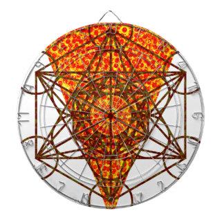 heilige pizzametry dartbord
