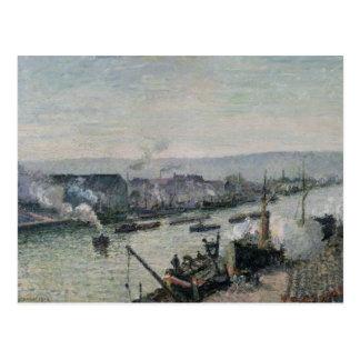 Heilige-scheid Haven, Rouen, 1896 Briefkaart