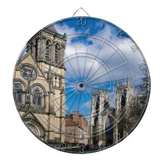 Heilige Wilfrids en Minster. van York Dartbord