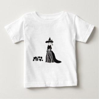Heks met Pompoenen Baby T Shirts