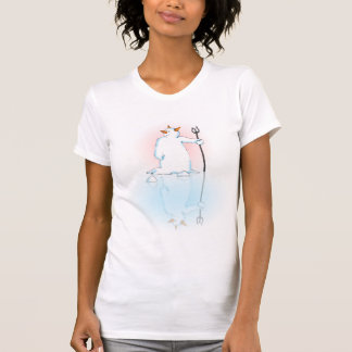 Hel ter wereld? Wit Overhemd T Shirt