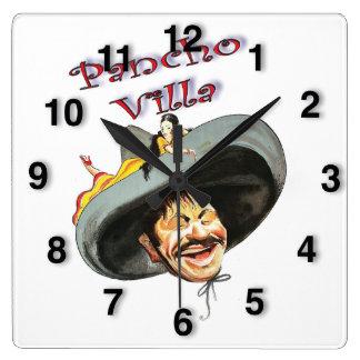 Held Pancho Villa Vierkante Klok