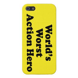 Held van de Actie van de wereld de Slechtste iPhone 5 Hoesjes