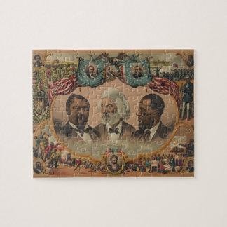 Helden van Gekleurde Race 1881 Frederick Douglass Legpuzzel