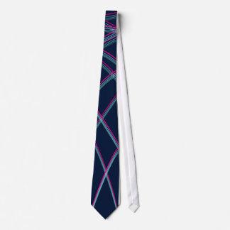 Helder-gekleurde krommen stropdas