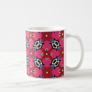 Helder Geometrisch Patroon Koffiemok