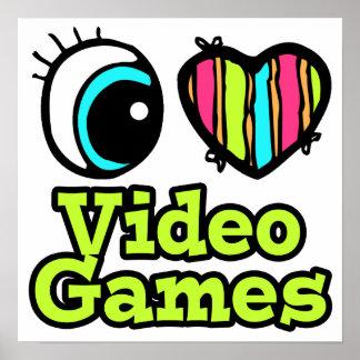 Helder Hart I van het Oog de Videospelletjes van d Poster