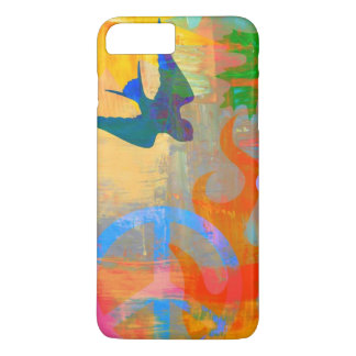 helder psychedelisch grafisch iPhonehoesje iPhone 8/7 Plus Hoesje