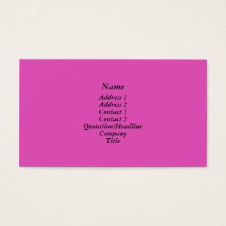 Helder roze visitekaartjes
