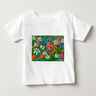 Heldere Bloemen Baby T Shirts