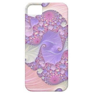 Heldere Fractal van Pastelkleuren Barely There iPhone 5 Hoesje