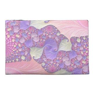 Heldere Fractal van Pastelkleuren Reis Accessoire Tasje