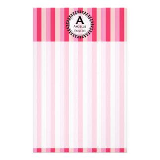 Heldere het Afbaarden Roze Kantoorbehoeften Briefpapier