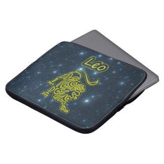 Heldere Leeuw Laptop Sleeve