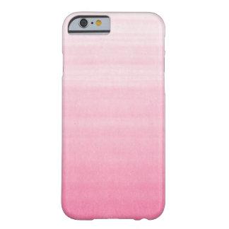 Heldere Roze Ombre Klantgerichte iPhone 6 hoesje
