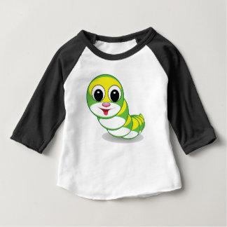 heldere rupsbandworm baby t shirts