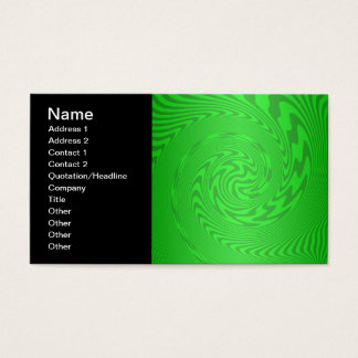 Heldergroen Abstract Ontwerp Visitekaartjes