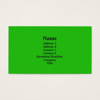 heldergroen visitekaartjes