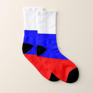 Helemaal over de Sokken van de Druk met Vlag van