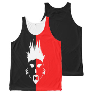 Helemaal over Gedrukte Unisex-Tank All-Over-Print Tank Top