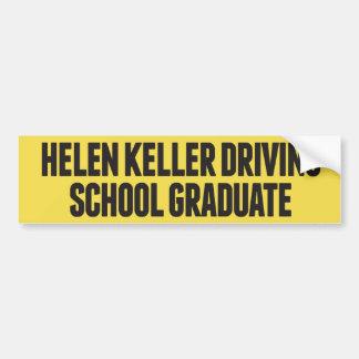 Helen Keller die Sticker van de Bumper van de Bumpersticker