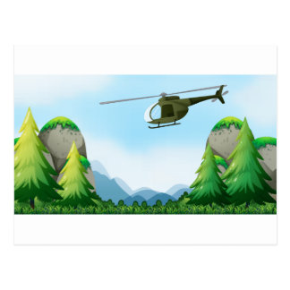 Helikopter Briefkaart