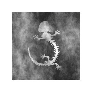 hellbender skelet canvas prints
